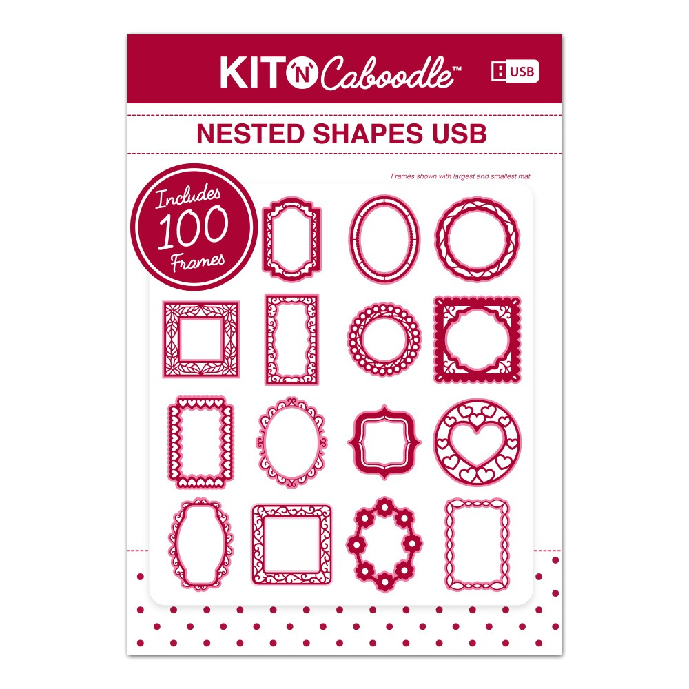Kit N Caboodle Nested Shapes USB